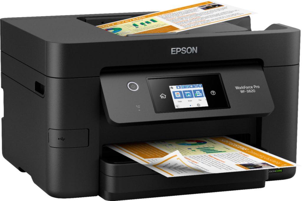 Print a Test Page on Epson Printer